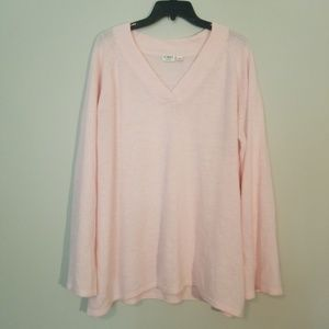 Cato Pink V-Neck Sweater